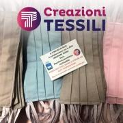 Mascherine anti Covid-19 prodotte da Creazioni Tessili